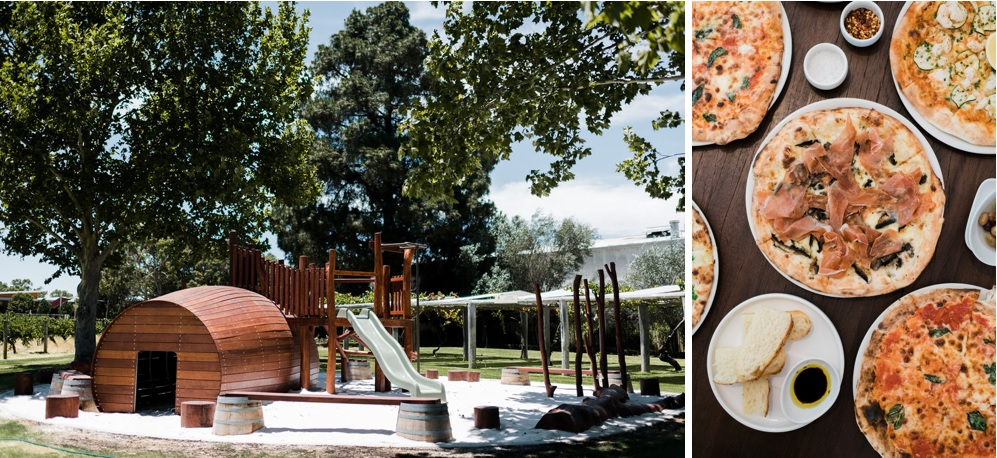 PLAYGROUND AND PIZZA ONE