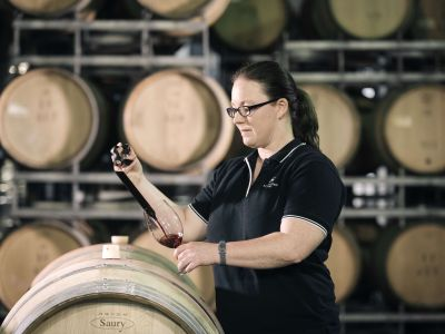 Sandalford Winemaker Hope Metcalf